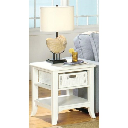 Null Furniture 4010W END TABLE