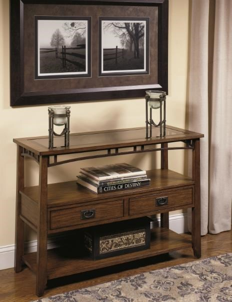Delightful Null Furniture 4013 Sofa Console   Dunk U0026 Bright Furniture   Sofa Table