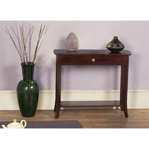 Null Furniture 5010 Table Group Sofa Table with 1 Drawer
