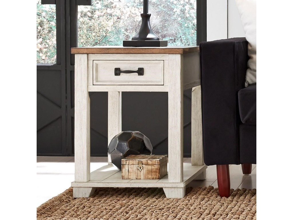 Null Furniture 5519Rectangular End Table