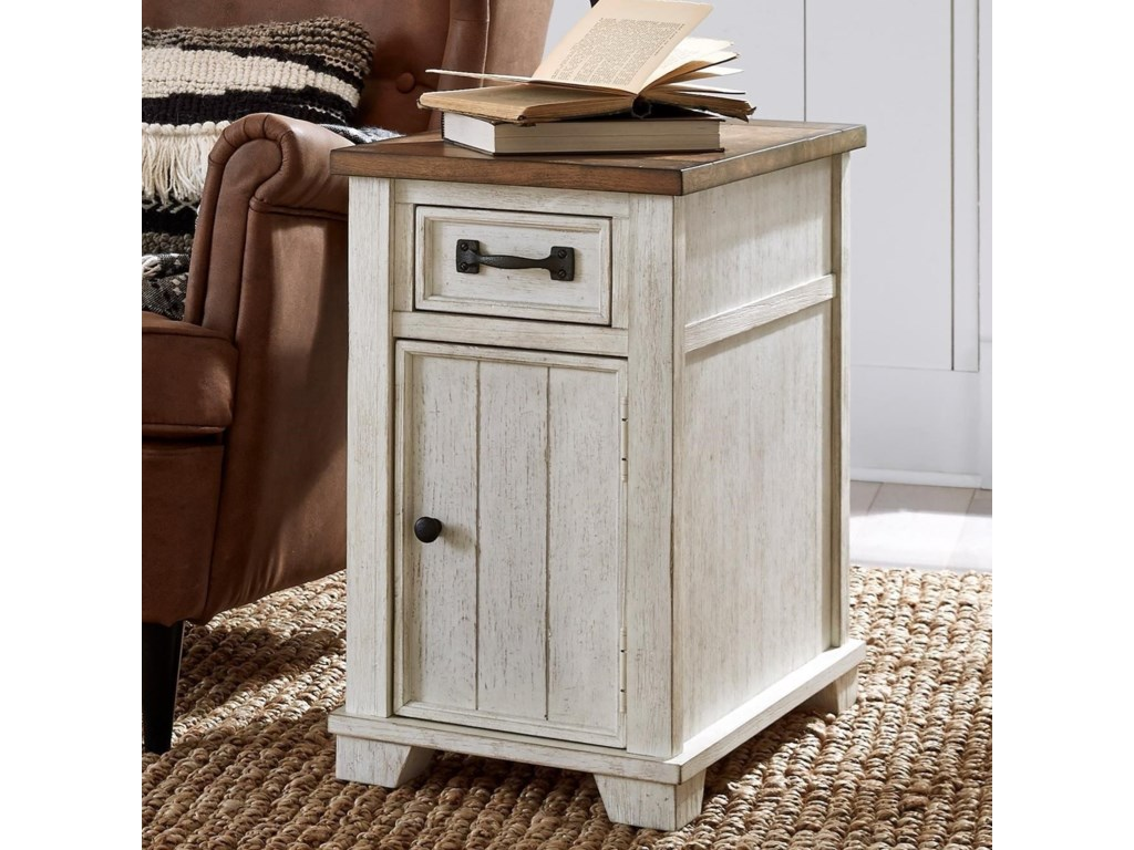 Null Furniture 5519Chairside Cabinet Table