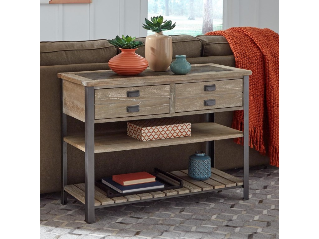 Null Furniture 9918Sofa/Media Console Table