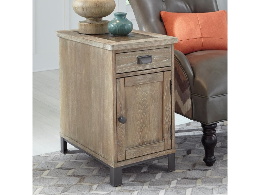 Null Furniture 9918Chairside Cabinet Table