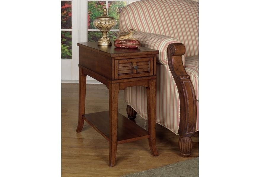 Null Furniture 1013 1013 07 Chairside End Table Dunk Bright