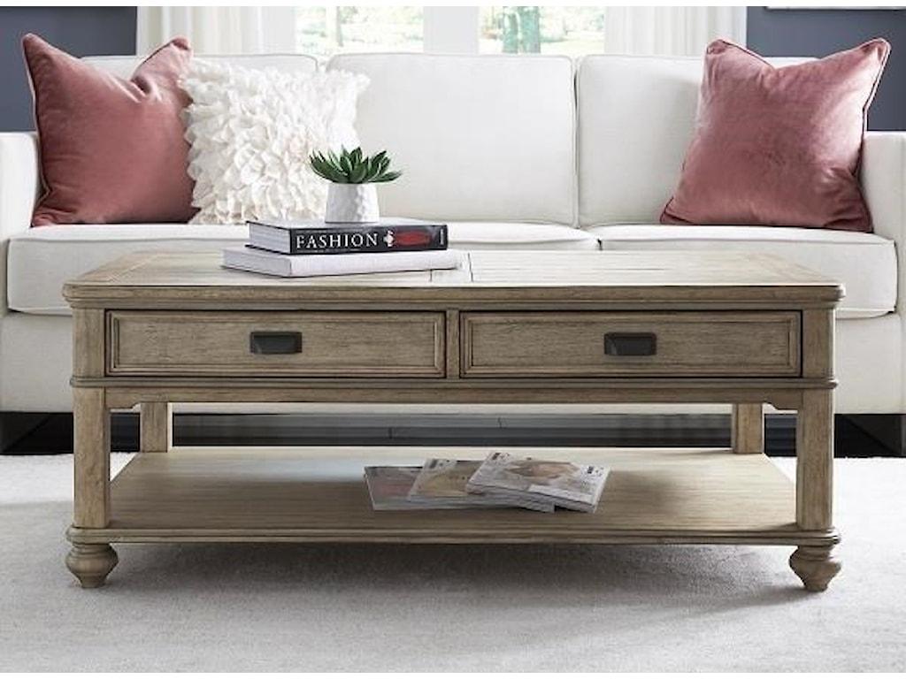 Null Furniture 8817Large Rectangular Cocktail Table