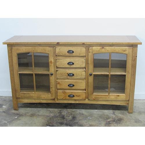 Oak Furniture West 1564 Tv stand