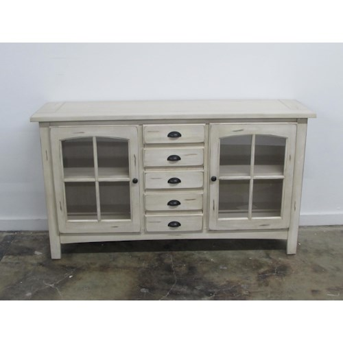 Oak Furniture West 1564 TV stand