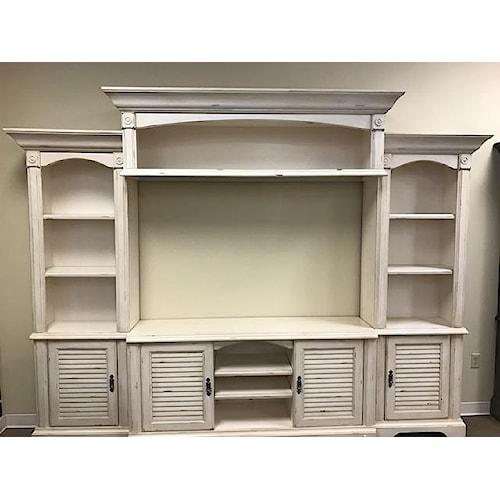 Oak Furniture West 4049CHW Wall Unit