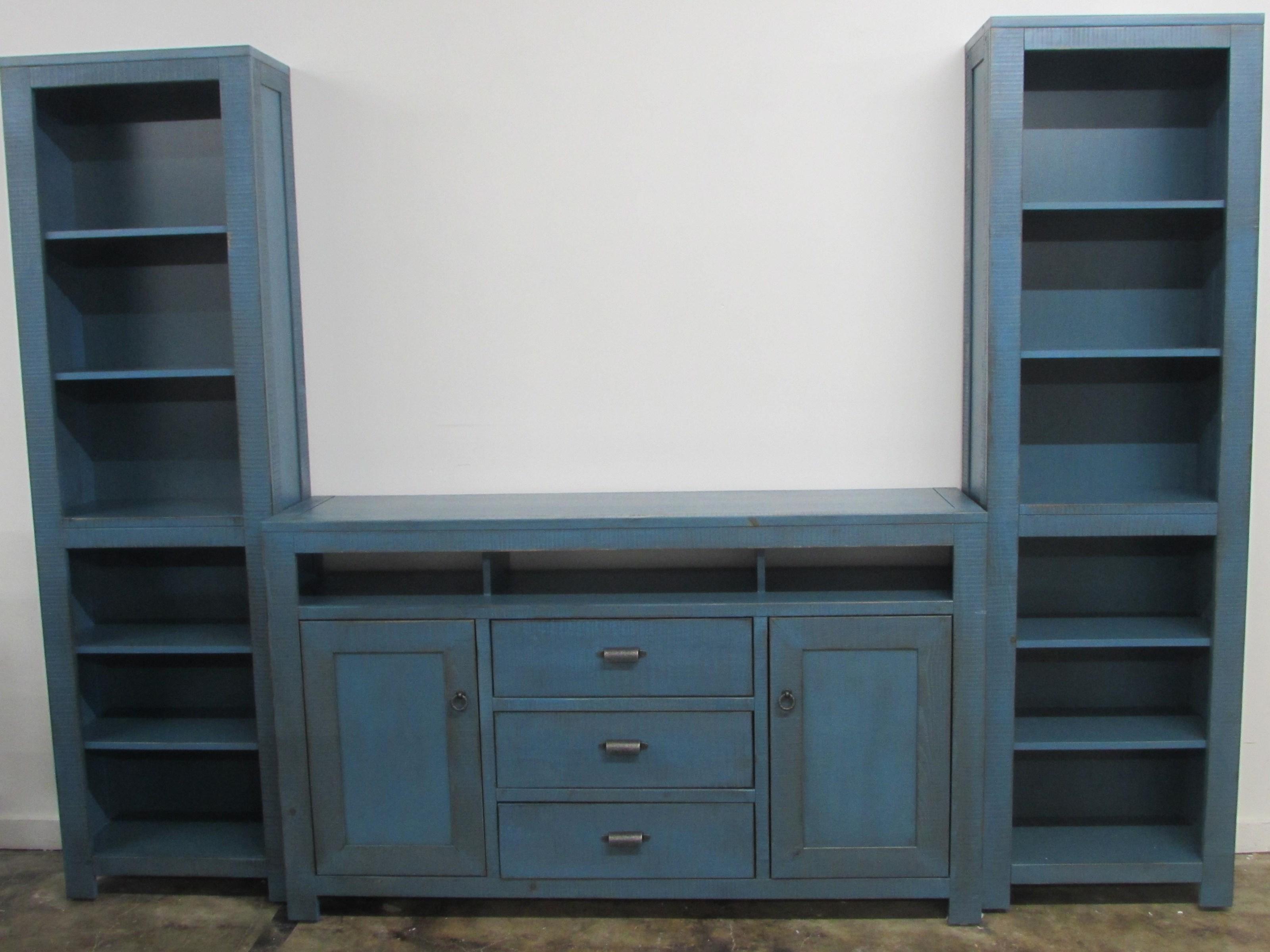 Oak Furniture West 6149BL Wall Unit