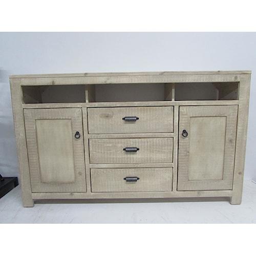 Oak Furniture West 6149BL TV stand