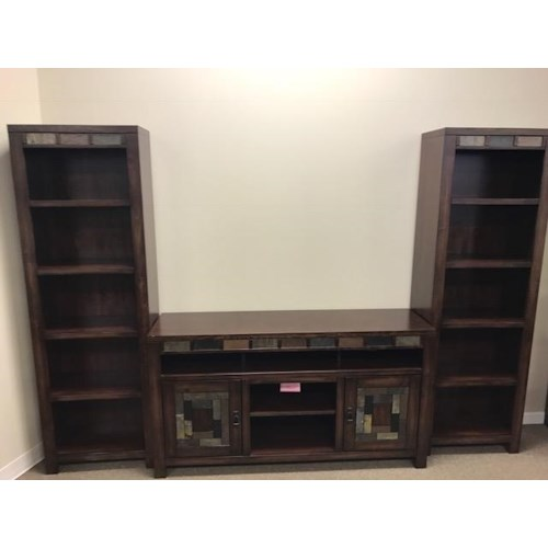 Oak Furniture West 6660 Wall Unit