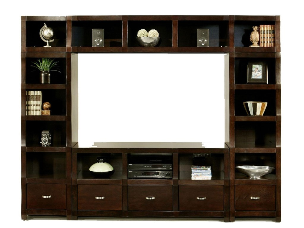 Shown with Twin Bookcases and Topper Bridge
