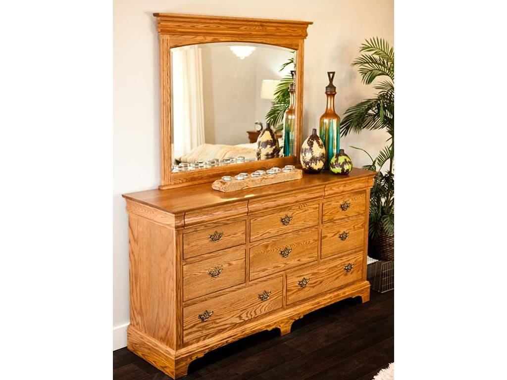 Oakwood Industries EdinburghDresser and Mirror Combo