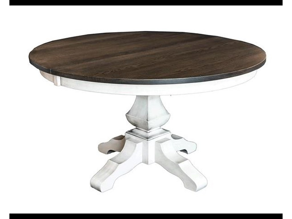 Milano Dining Table By Oakwood Industries At Crowley Furniture Mattress