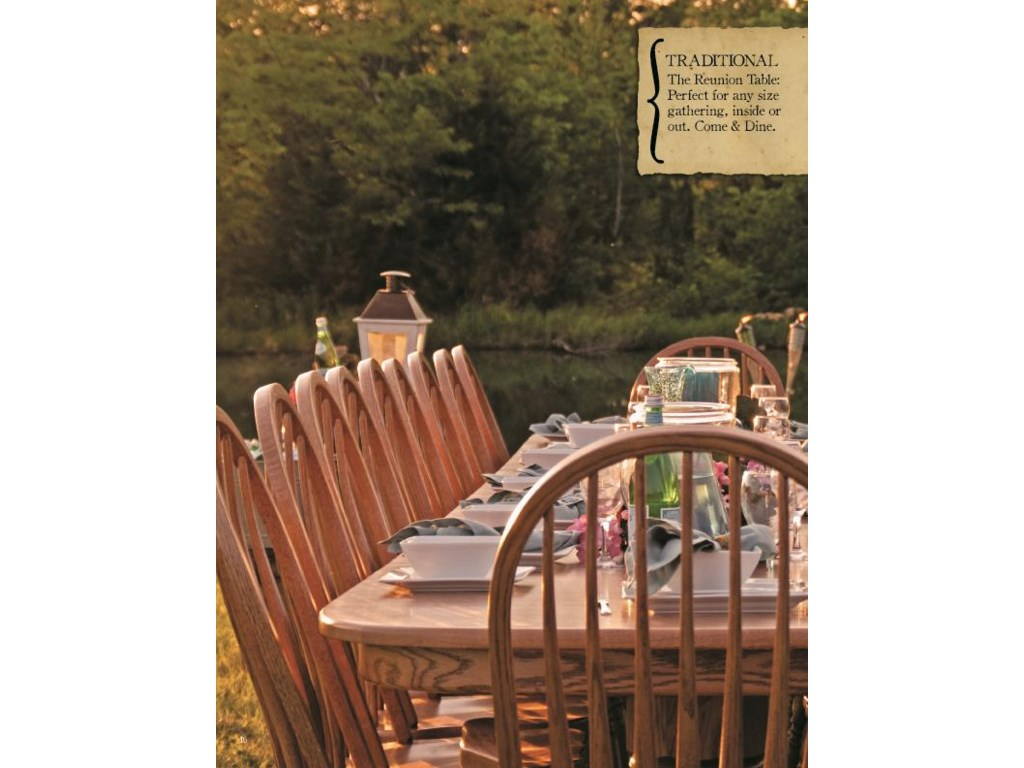 Oakwood Industries Casual DiningRound Table