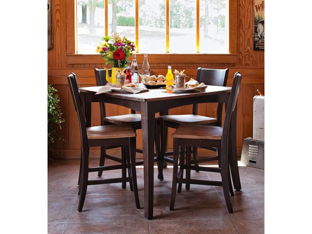 Oakwood Industries Casual DiningAchord Counter Height Table