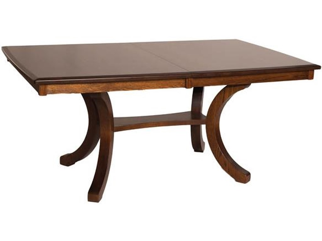 Oakwood Industries Casual DiningBellevue Rectangular Table