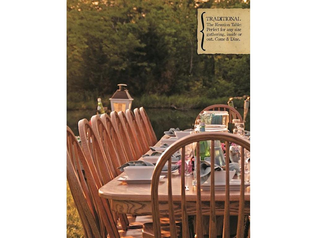 Oakwood Industries Casual DiningMini Banquet Table