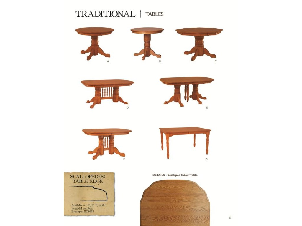 Oakwood Industries Casual DiningBanquet Table