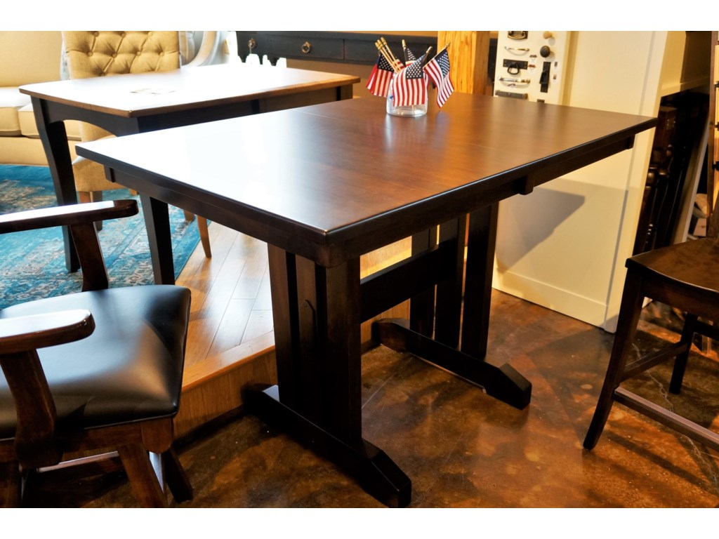 Oakwood Industries Casual DiningMini Mission Table