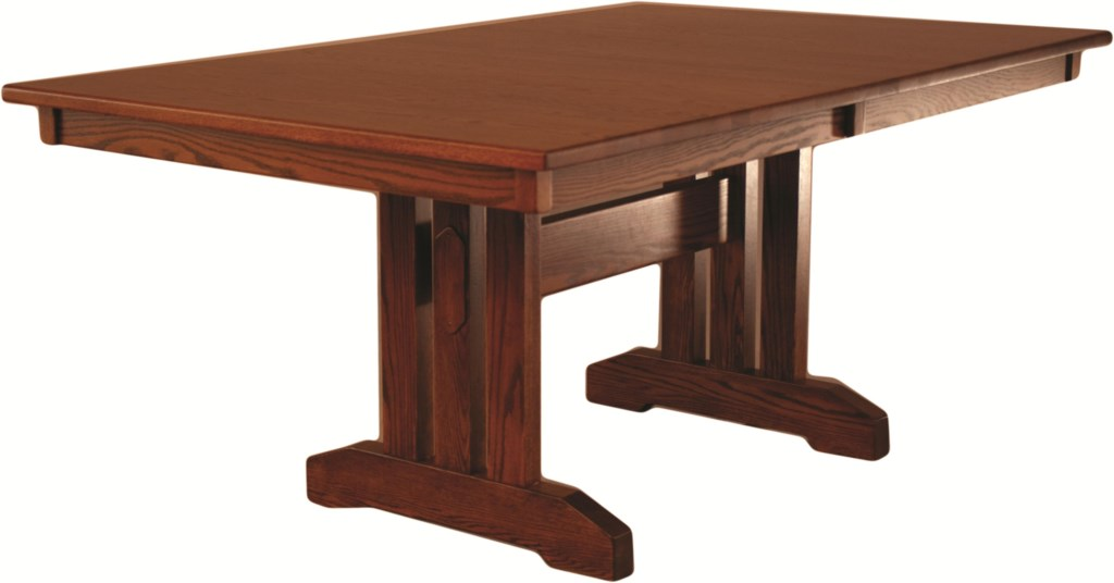 Oakwood Industries Casual Dining Mission Dining Table Mueller