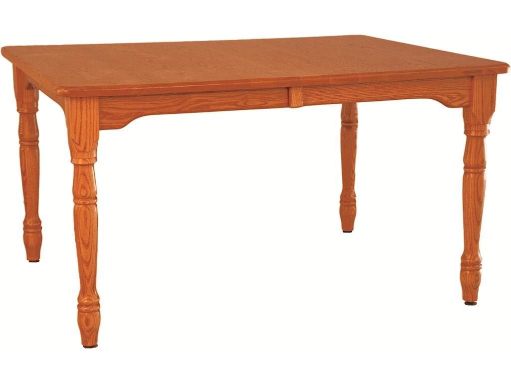 Oakwood Industries Casual DiningFarmhouse Table