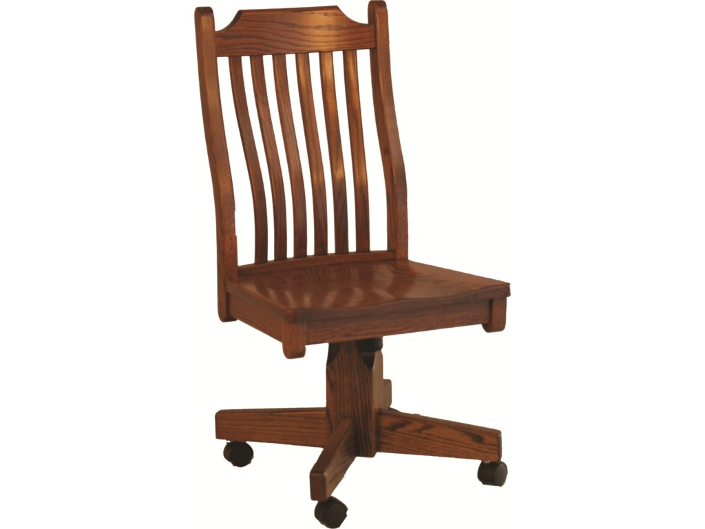 Oakwood Industries Casual DiningMission Roller Side Chair