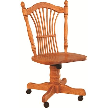 Sheaf Back Roller Side Chair