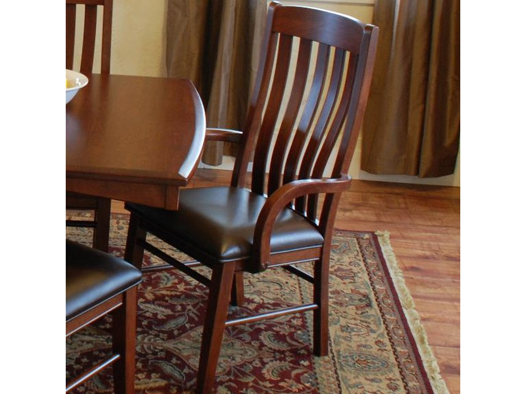 Oakwood Industries Casual DiningContour Arm Chair