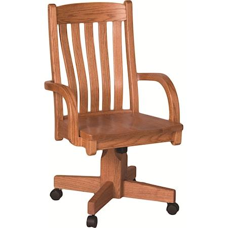 Contour Roller Arm Chair