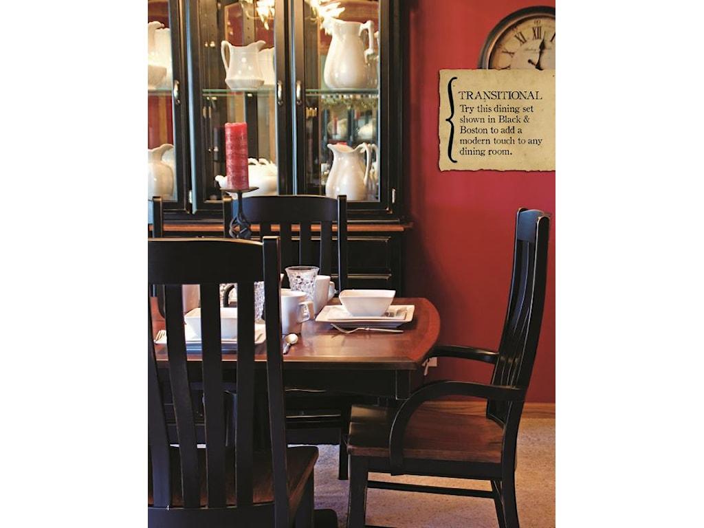 Oakwood Industries Casual DiningContour Arm Chair