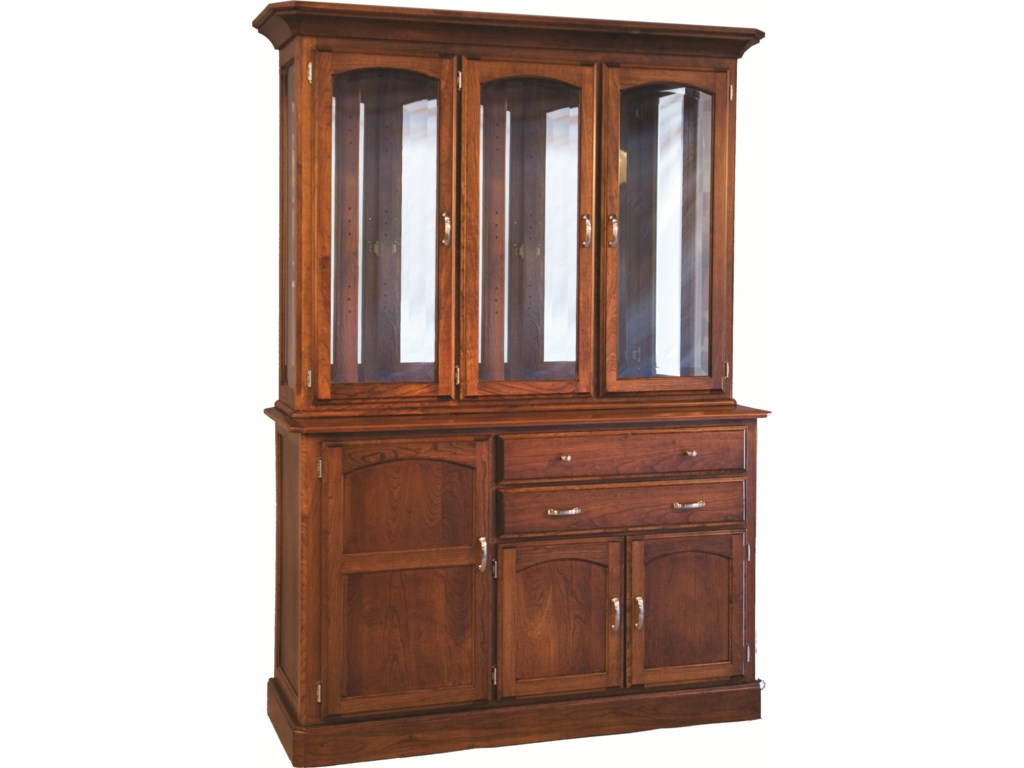 Oakwood Industries Casual DiningNewport Hutch and Buffet