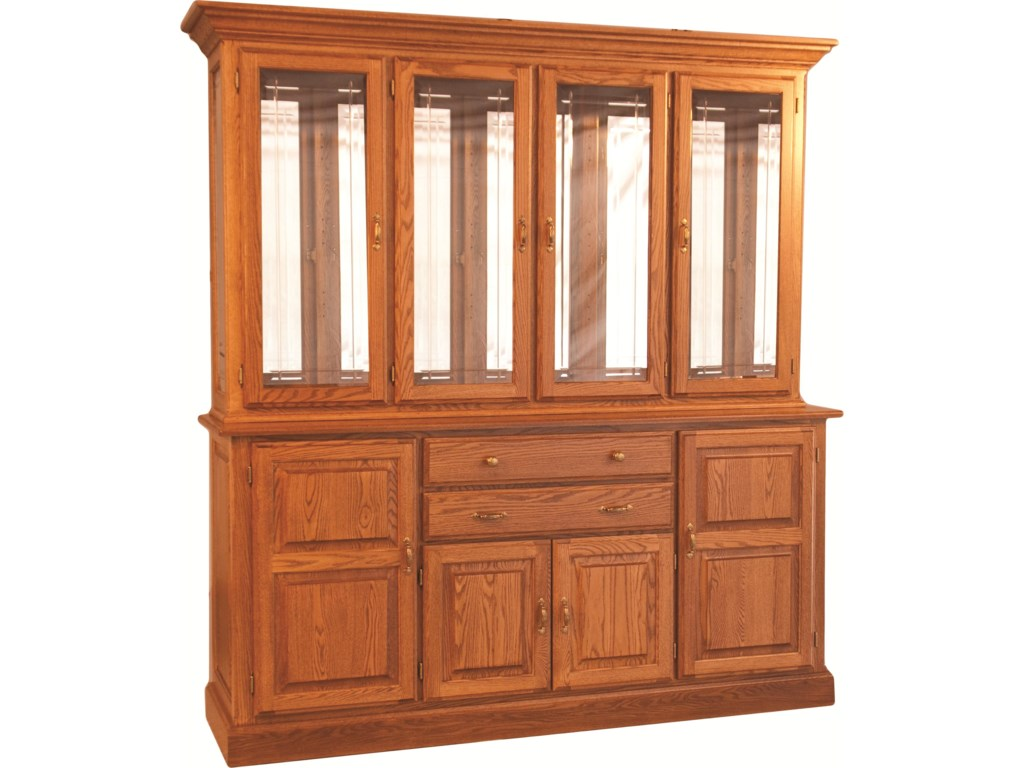 Oakwood Industries Casual DiningTown and Country China Hutch