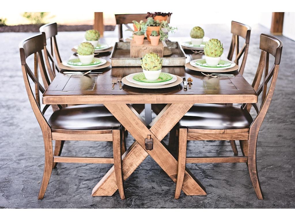 Oakwood Industries Tuscany7-pc Dining Set