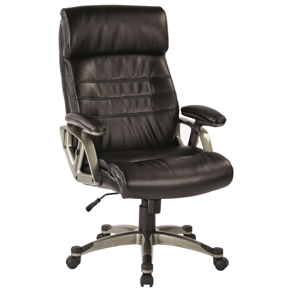 Office star office chairs executive chair with bonded leather