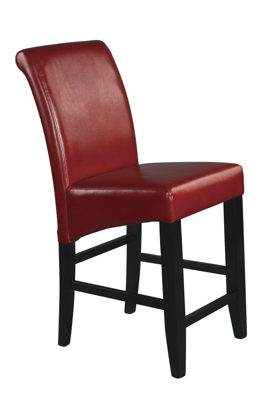 Office Star Parson Bar Stools 24 Inch Eco Red Bar Stool Knight