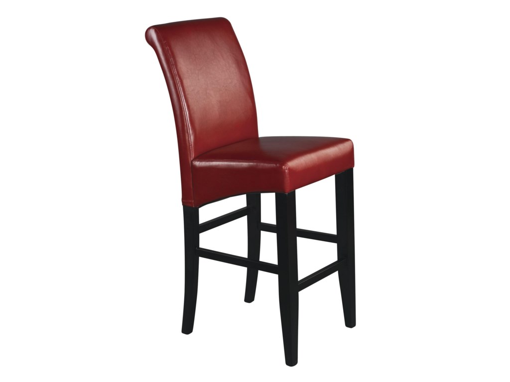 Office Star Parson Bar Stools 30 Inch Eco Red Stool
