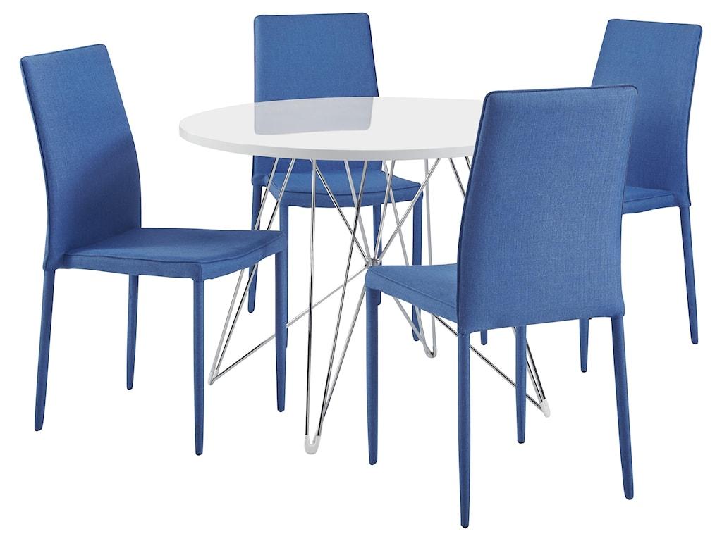 029W 5 Piece Dining Room Set