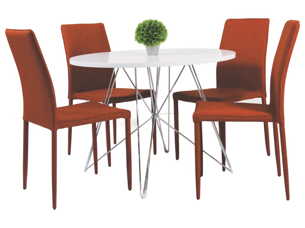 029w 5 Piece Dining Room Set