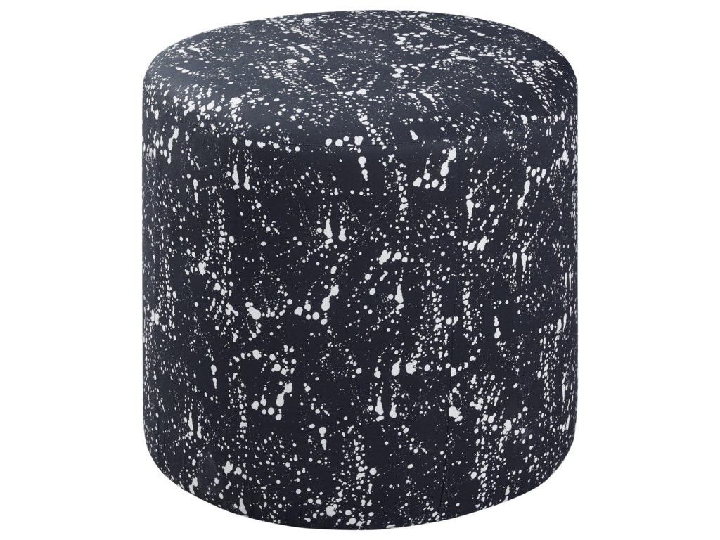 Offshore Furniture Source AccentsRound Accent Ottoman