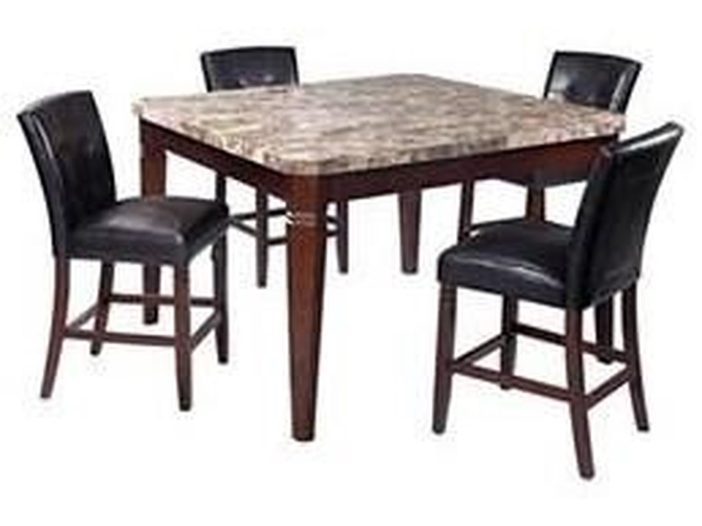 Offshore Furniture Source Arizona5 Piece Counter Height Dining Set