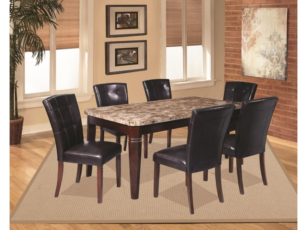 Offshore Furniture Source Arizona8 Piece Casual Dining Group with Storage