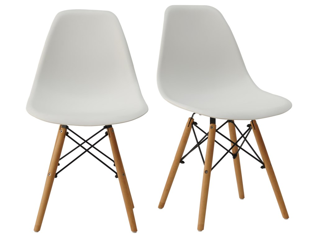Offshore Furniture Source DC113Pair of Shell Chairs