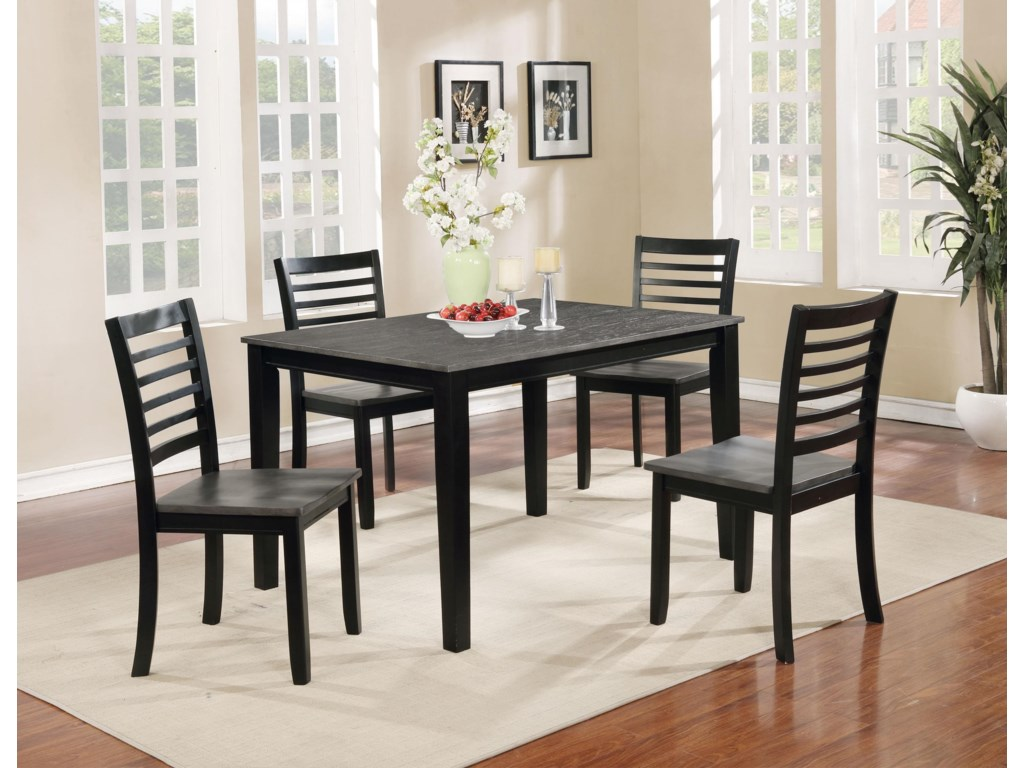 Offshore Furniture Source Dining Group5 Piece Dining Set