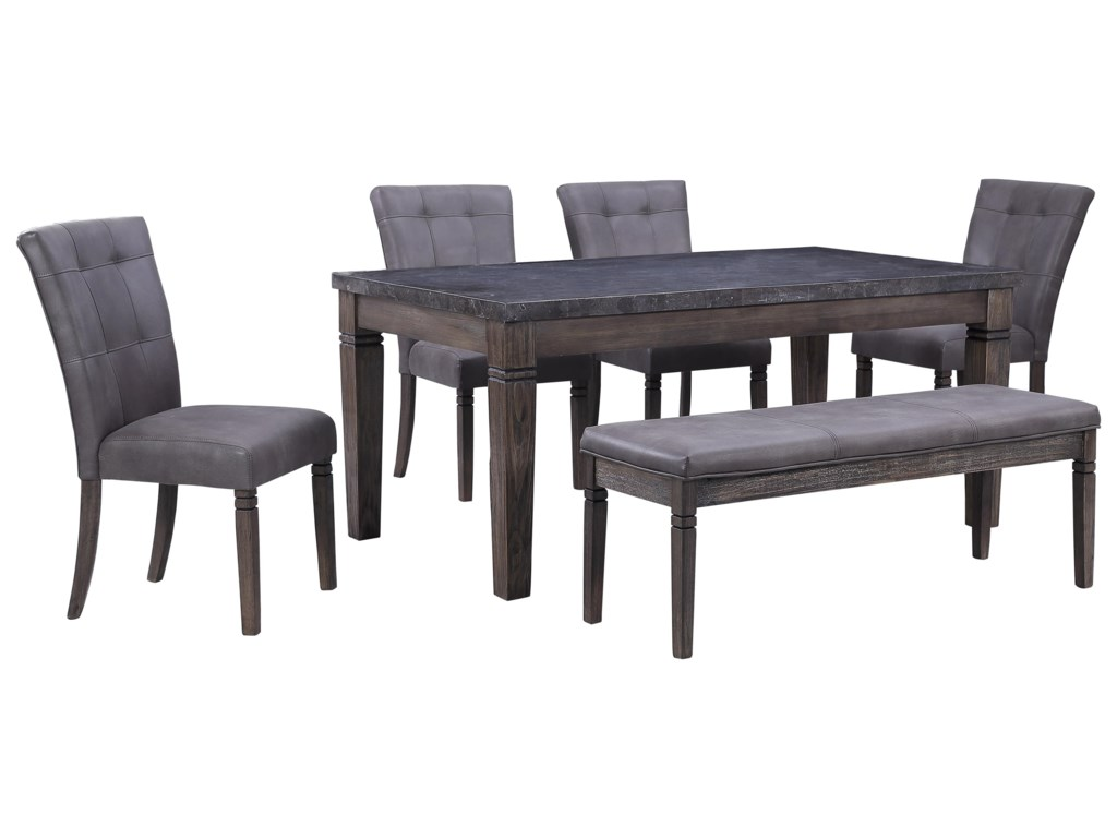 Offshore Furniture Source FillmoreRectangular Dining Table