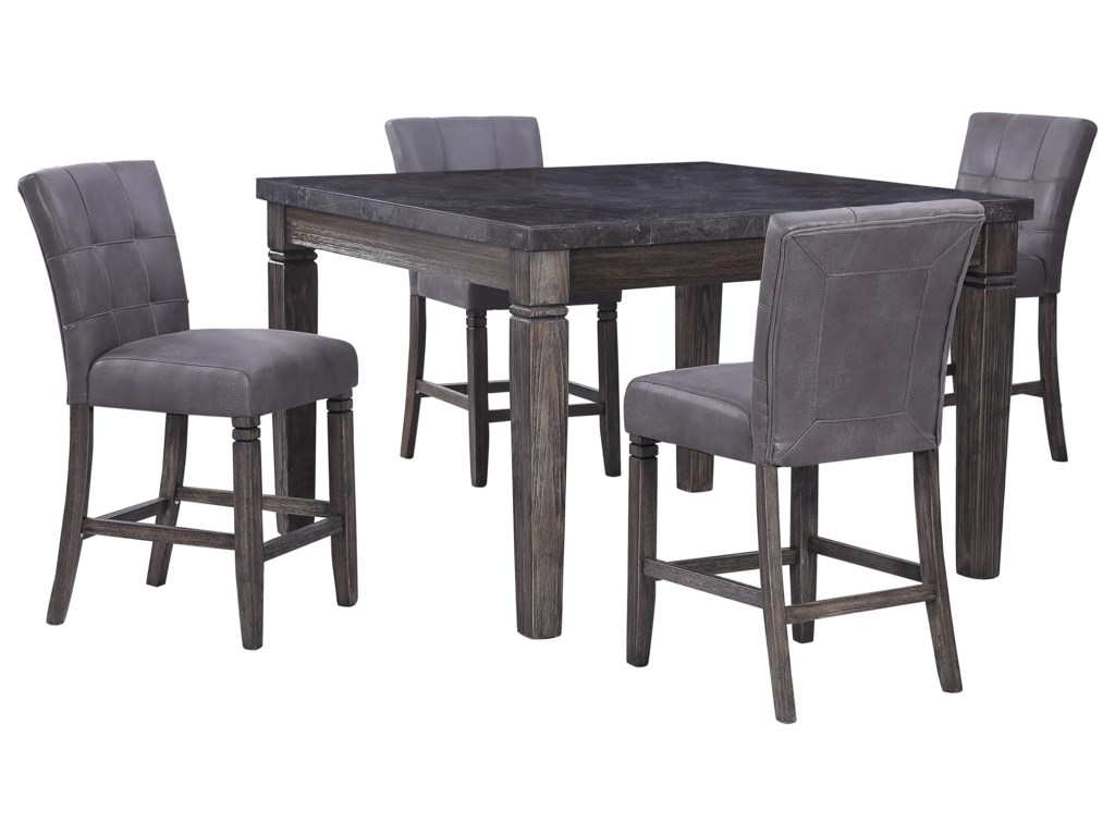 Offshore Furniture Source Fillmore6 Piece Counter Height Dining Set