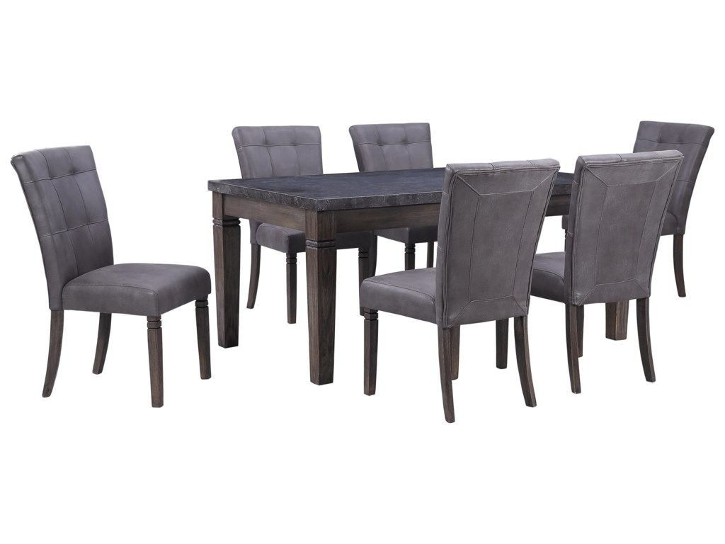 Offshore Furniture Source Fillmore7 Piece Dining Group