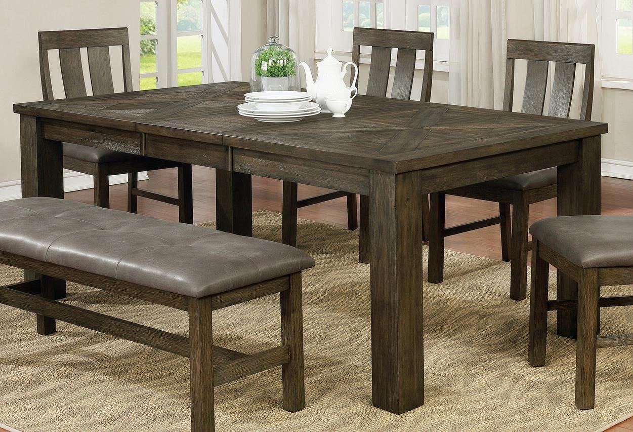 Picture of: Offshore Furniture Source Lakeside Lakeside 2 Dt Grey Finish Dining Table Sam Levitz Outlet Kitchen Tables