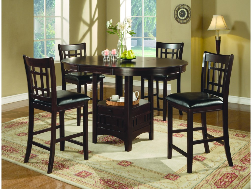 Offshore Furniture Source MonroeOval Counter Height Table
