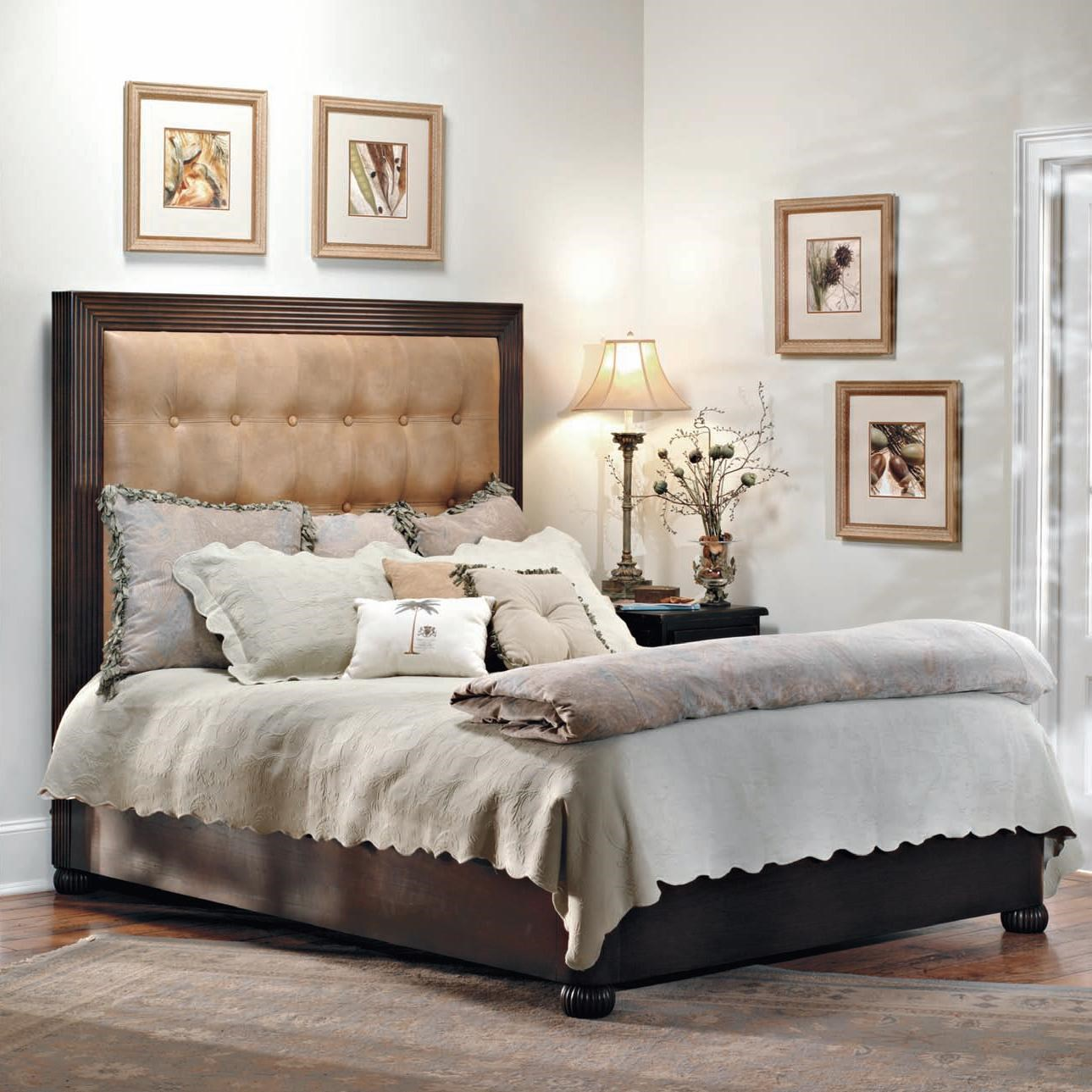 old biscayne designs custom design solid wood beds dylan wood platform bed with upholstered headboard - Solid Wood Platform Bed